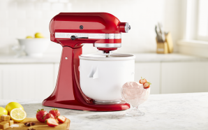 Is your wife's KitchenAid mixer just sitting on the bench?…