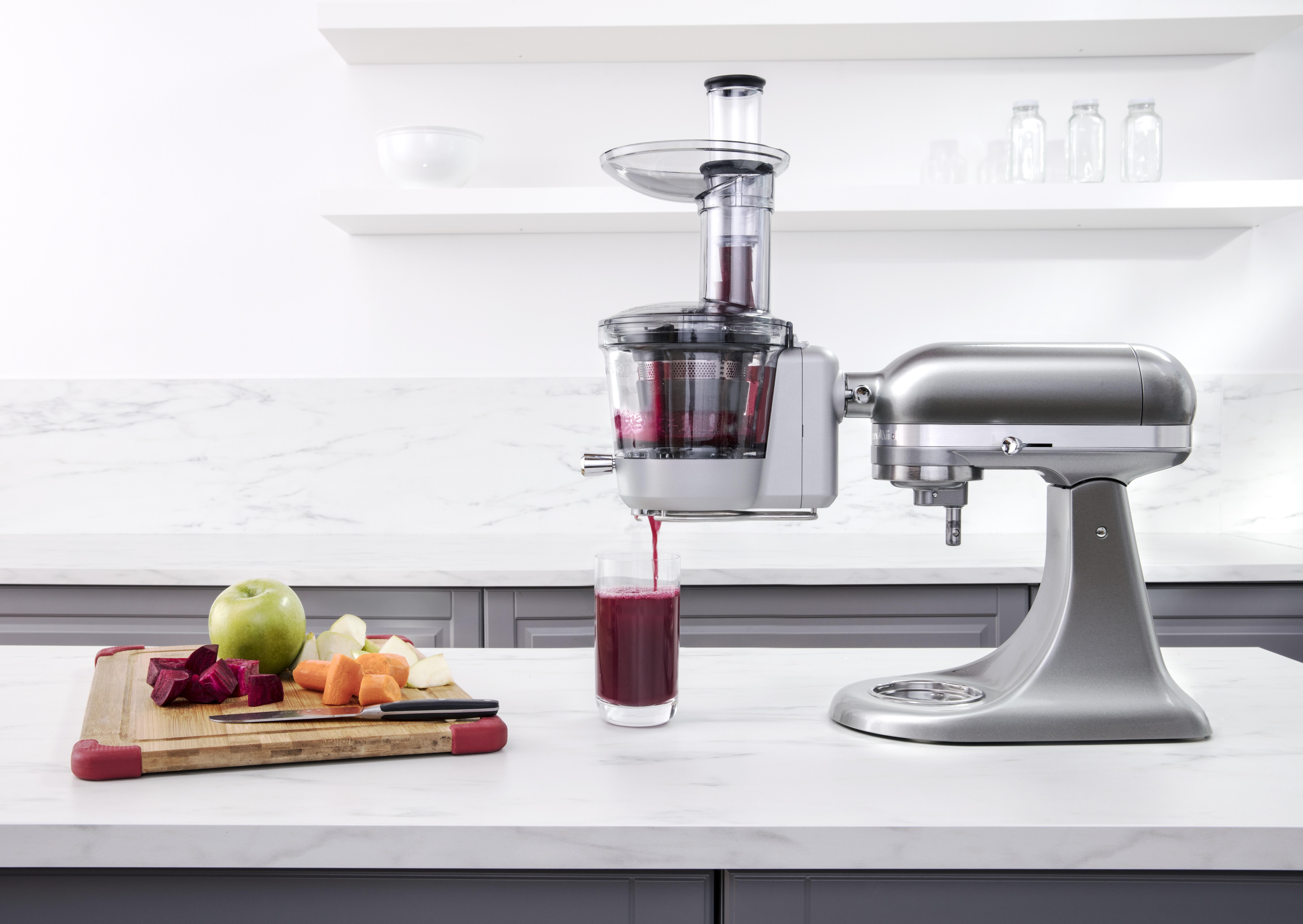 Kitchenaid Juicer And Sauce Attachment Review - Kitchen Appliances ...