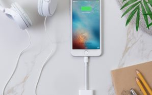 Listen to your plug-in headphones while charging: Belkin's new audio+charge…