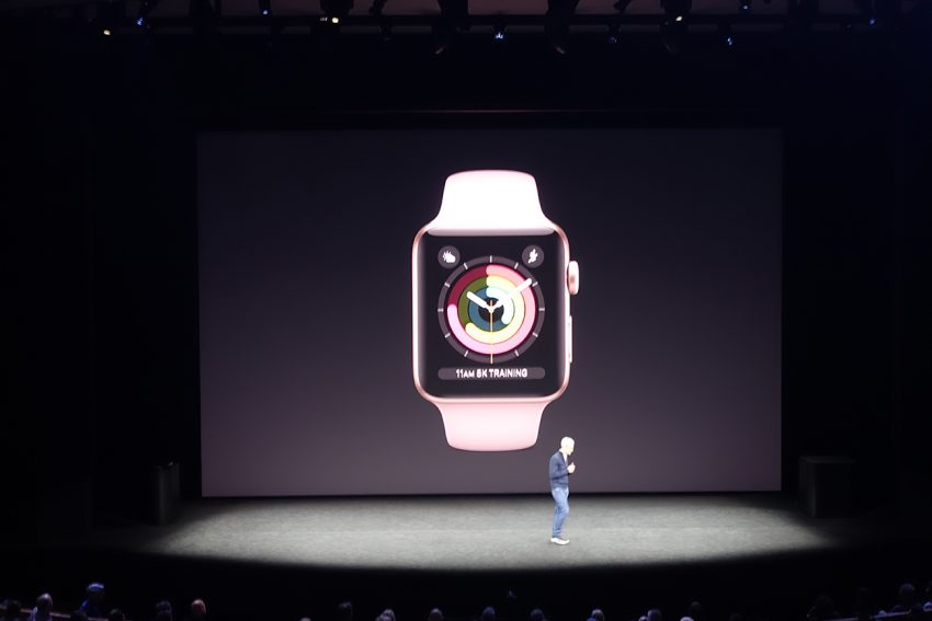 Apple Announces The Apple Watch Series 3 With Cellular Connectivity And More