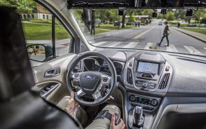 Strange fake autonomous car in Virginia: Revealed as Ford experiment