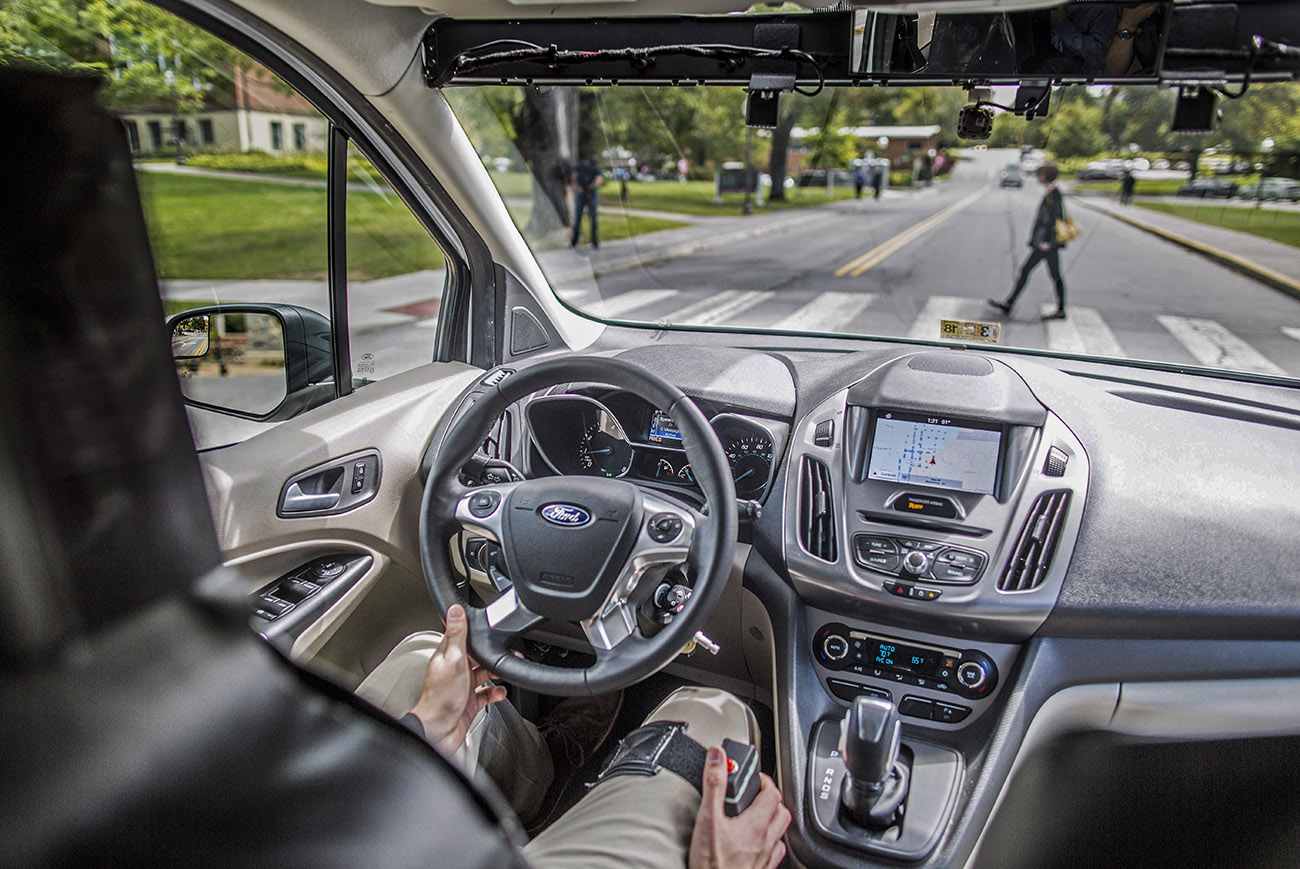 Ford Tests Making Autonomous Vehicles Communicate with Pedestrians