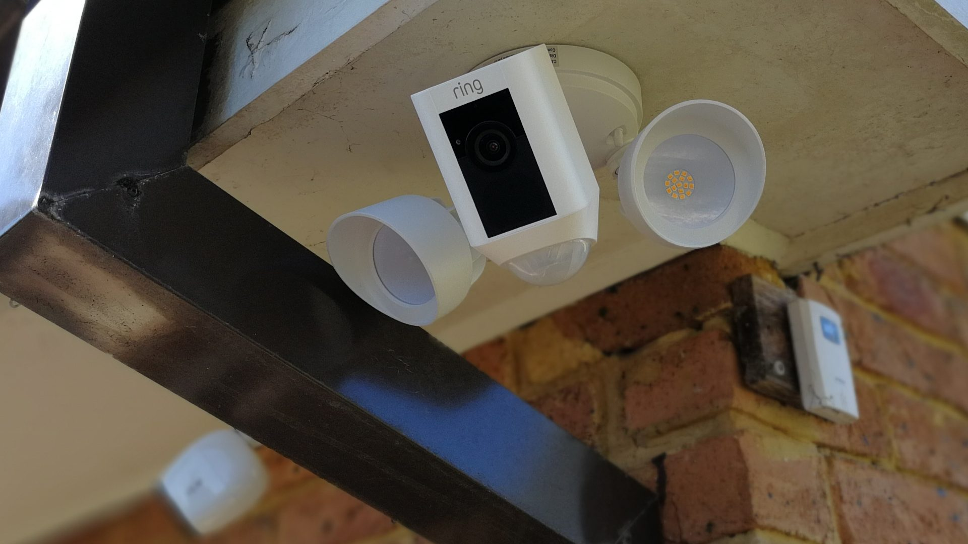 Ring Doorbell With Floodlight