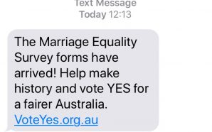 Political activists exploit Spam Act loophole: Vote YES campaign sends…