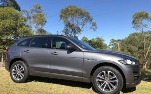 Jaguar's F-Pace SUV – Comfortable highway cruiser