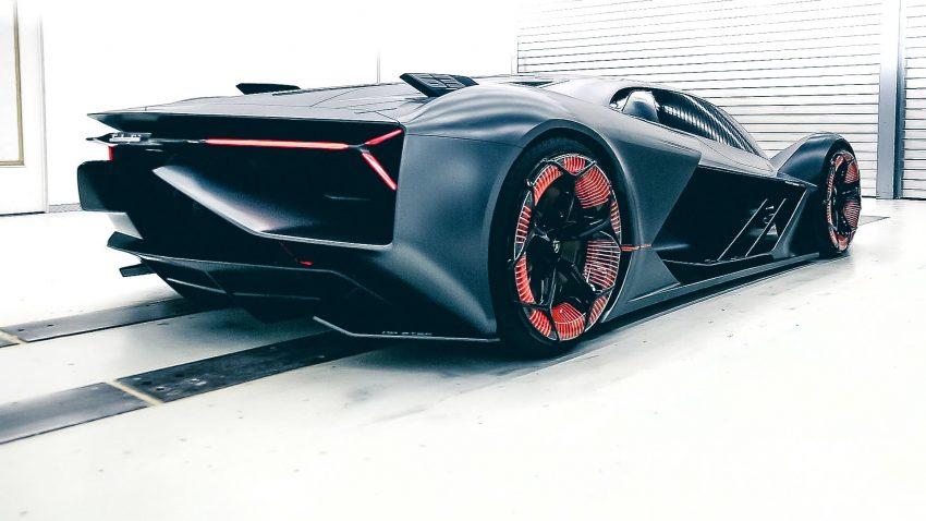Lamborghini's 'self-healing' future electric sports vehicle