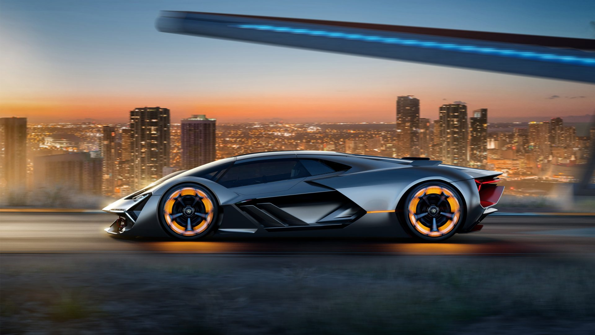 Lamborghini unveils the self-healing supercar of the future""
