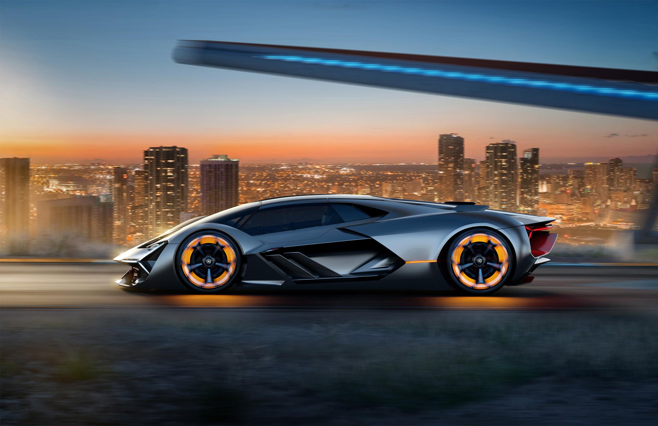 Behold The future of Lamborghini , Terzo Millennio concept