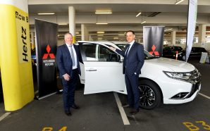 Hertz adds Mitsubishi Outlander Plug-In Electric vehicles to their fleet
