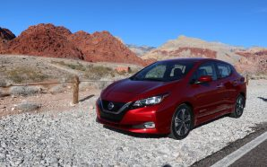 2018 Nissan Leaf Test Drive