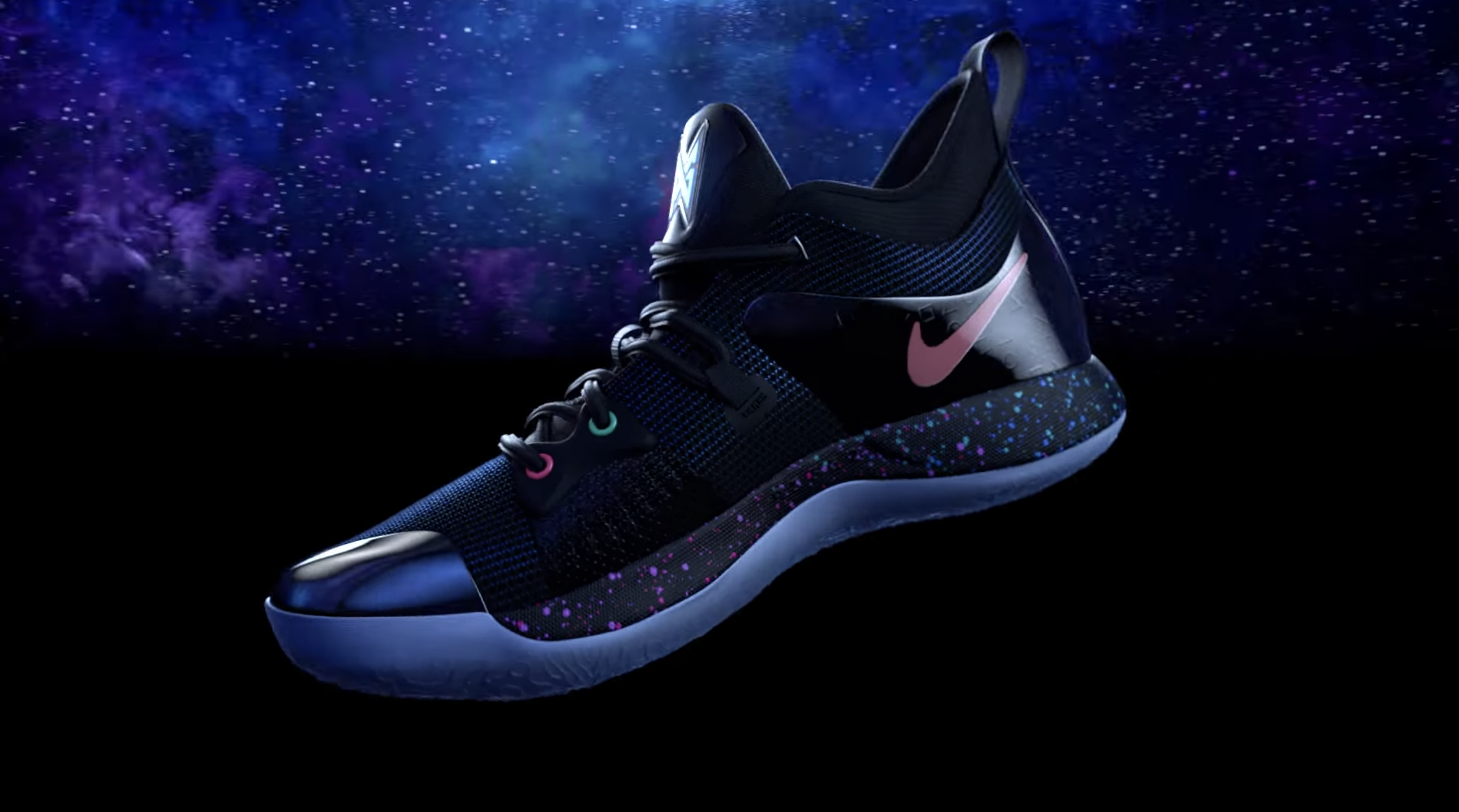 best website 874ed 3a32a Playstation Shoes: Yep - that's a thing. Paul George & Nike ...