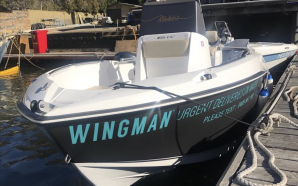 Wingman Beer delivered to you on the Harbour this Australia…