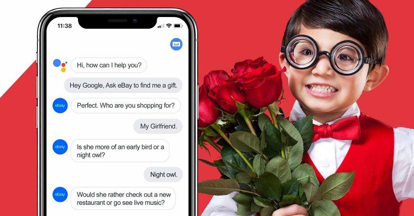 eBay helps you Valentine's shop using Google Assistant » EFTM