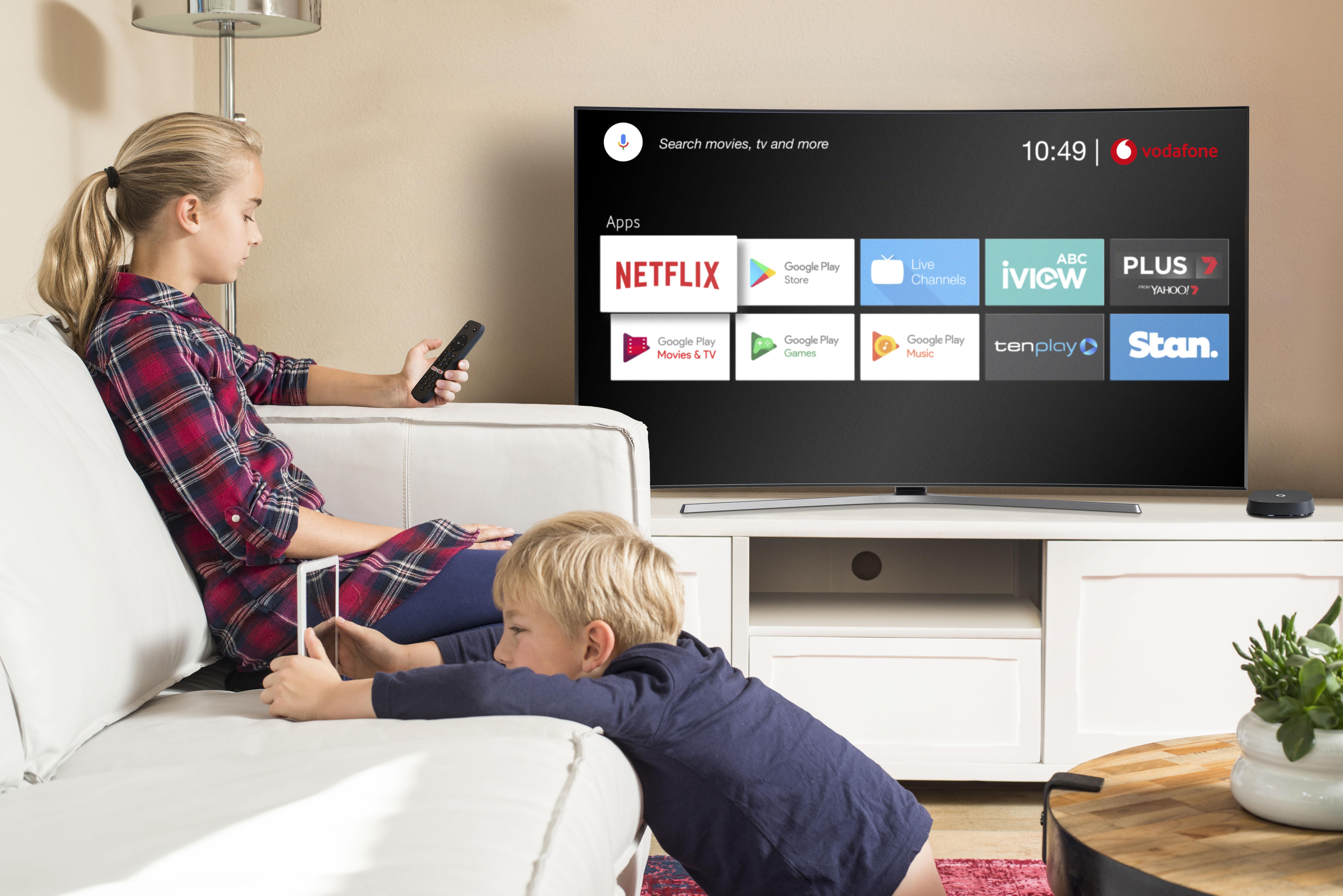 Vodafone Bundles Netflix With Nbn Launches Vodafone Tv