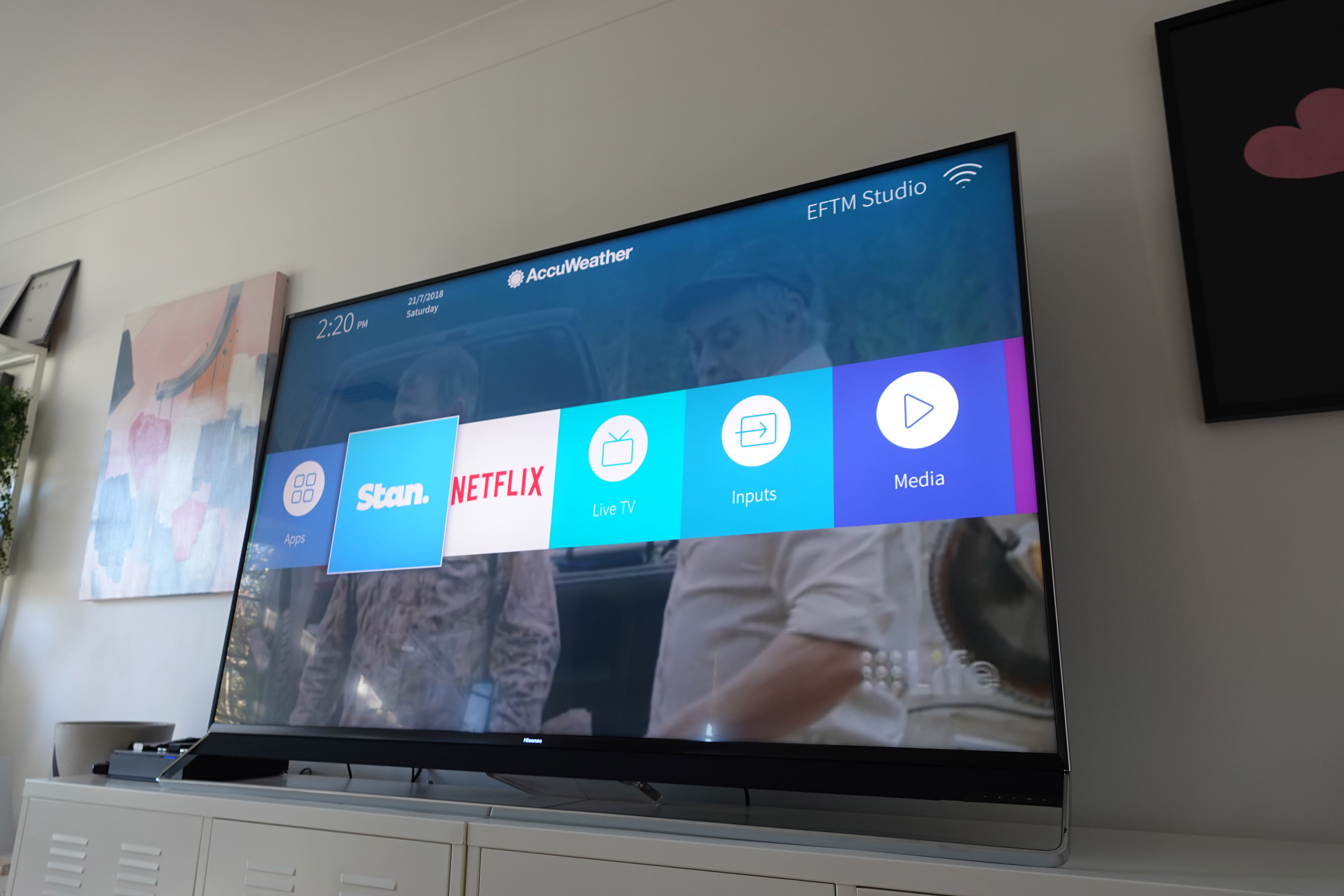 Hisense 75 Inch Series 9 ULED Review - Go Big or Go Home » EFTM