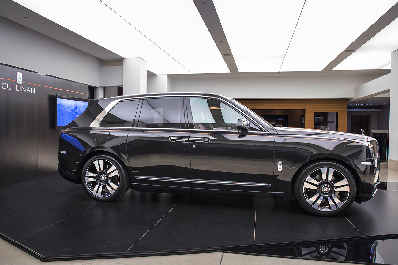 The Rolls Royce Cullinan A Suv Diamond 187 Eftm