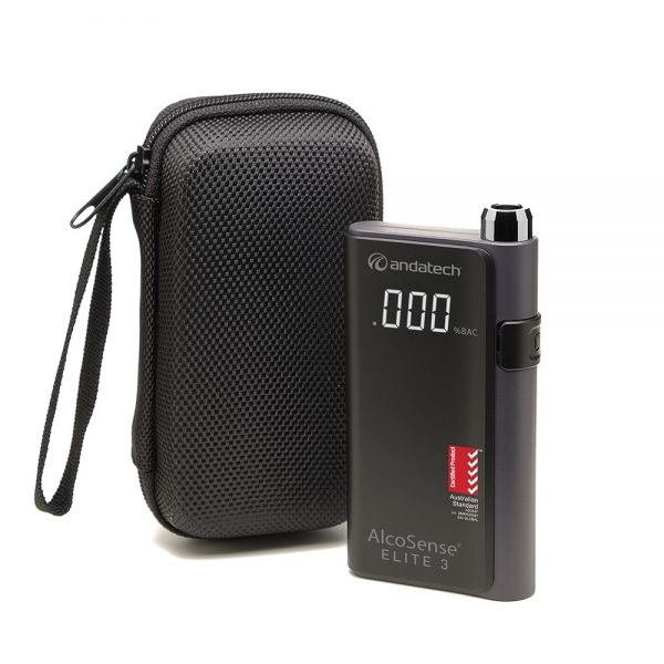 Alcosense Elite 3 with carrying case