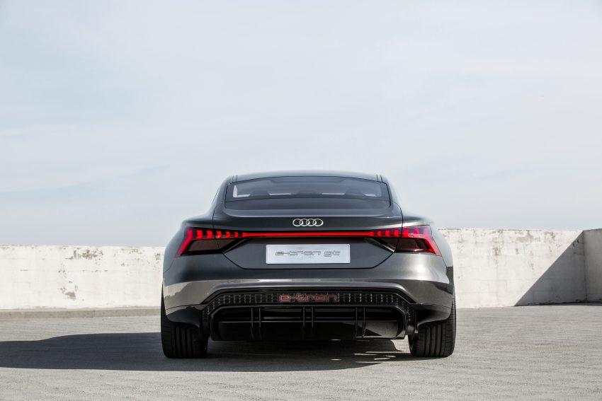 L A Motor Show The Audi E Tron Gt Eftm