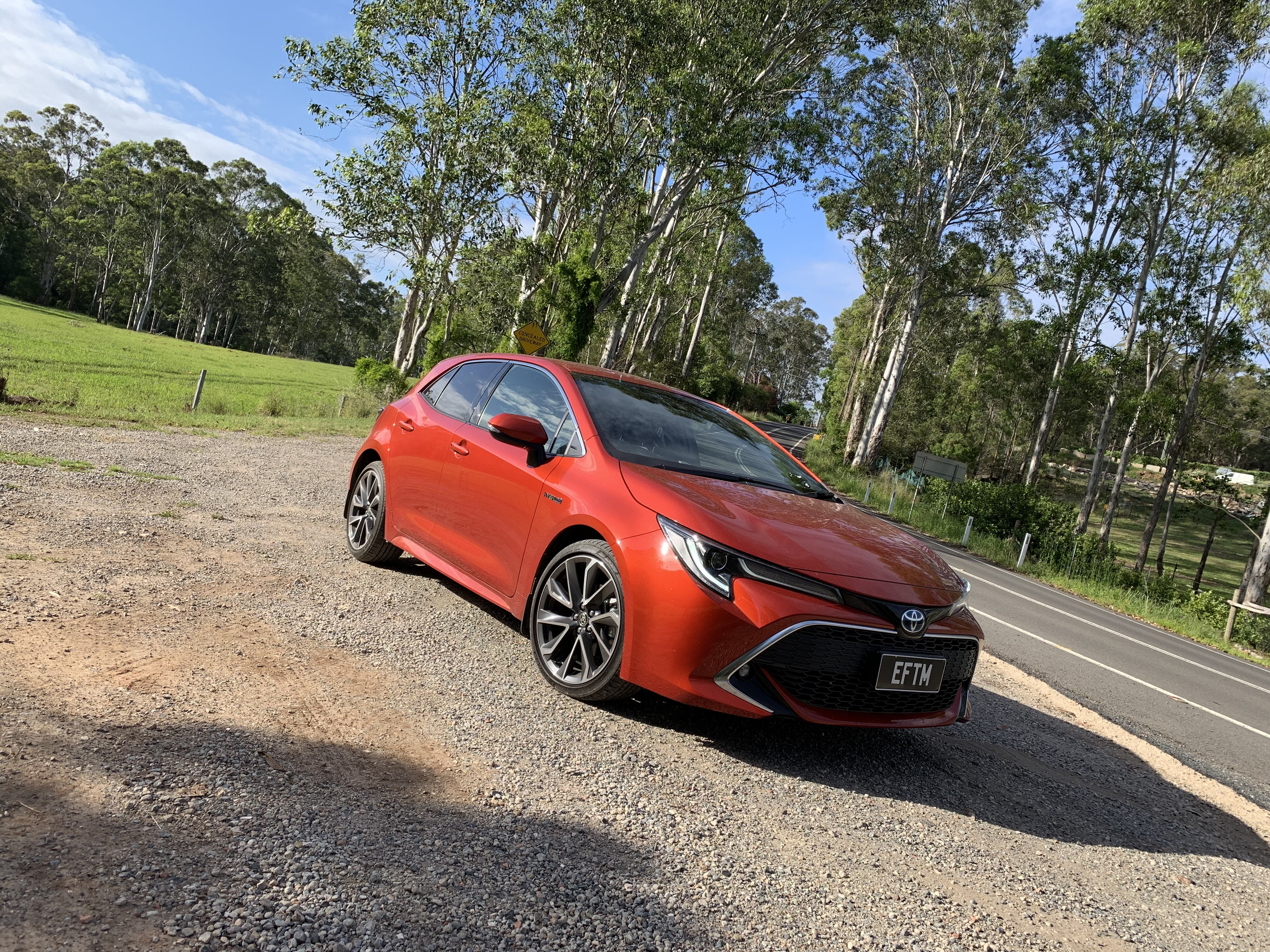 2019 Toyota Corolla Zr Hybrid Drive Review Eftm