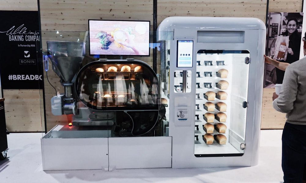 A Bread making machine that doubles as a vending machine ...