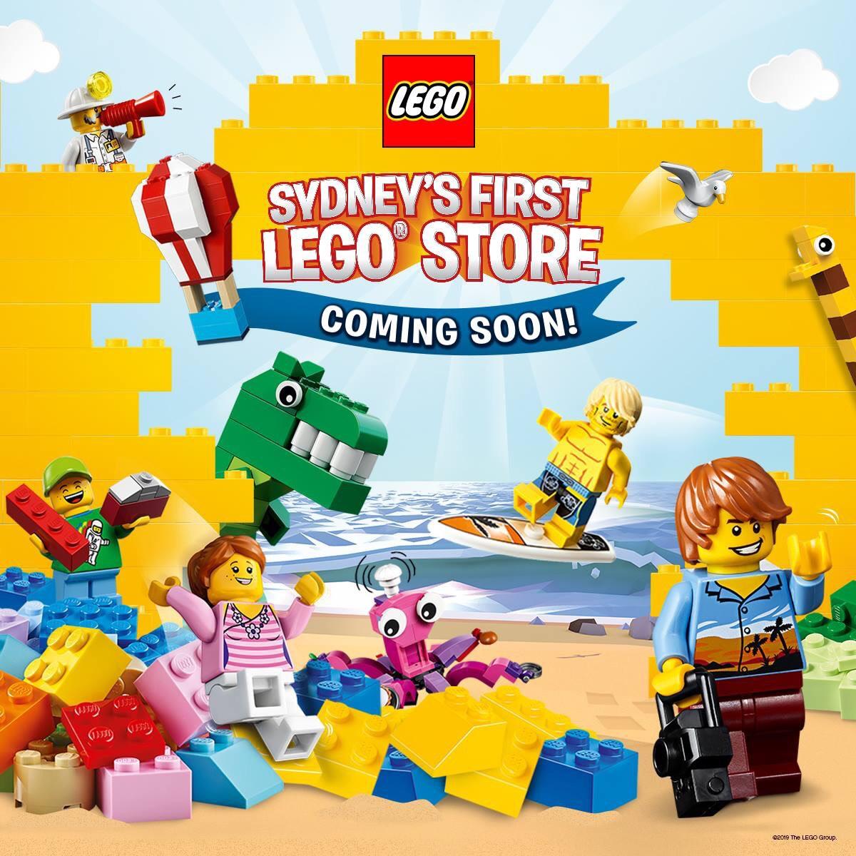 Lego Store lands in Sydney » EFTM