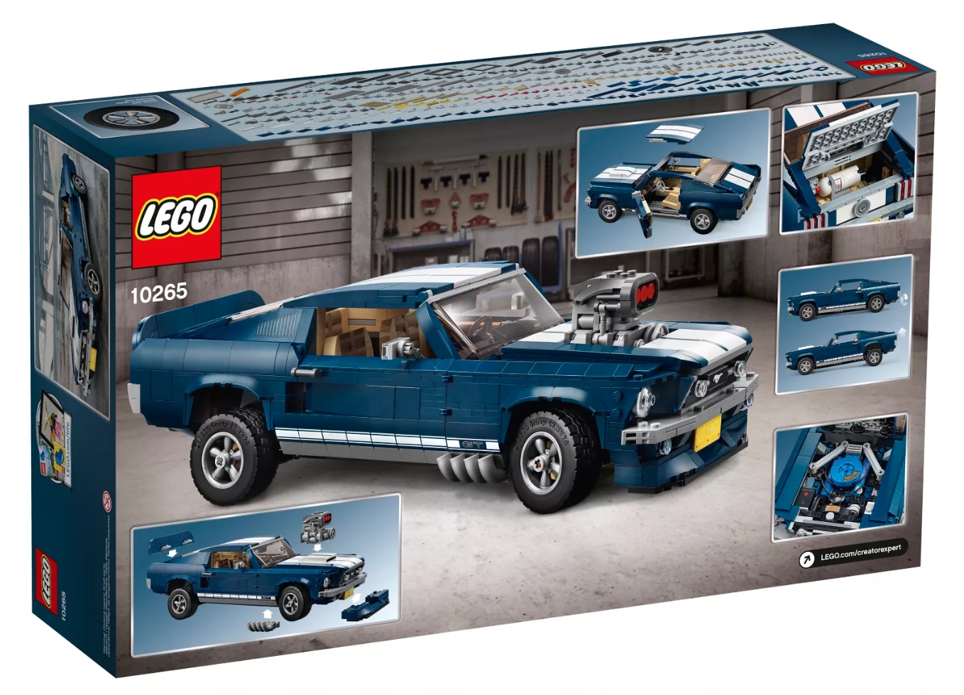 lego releases ford mustang creator edition want eftm. Black Bedroom Furniture Sets. Home Design Ideas