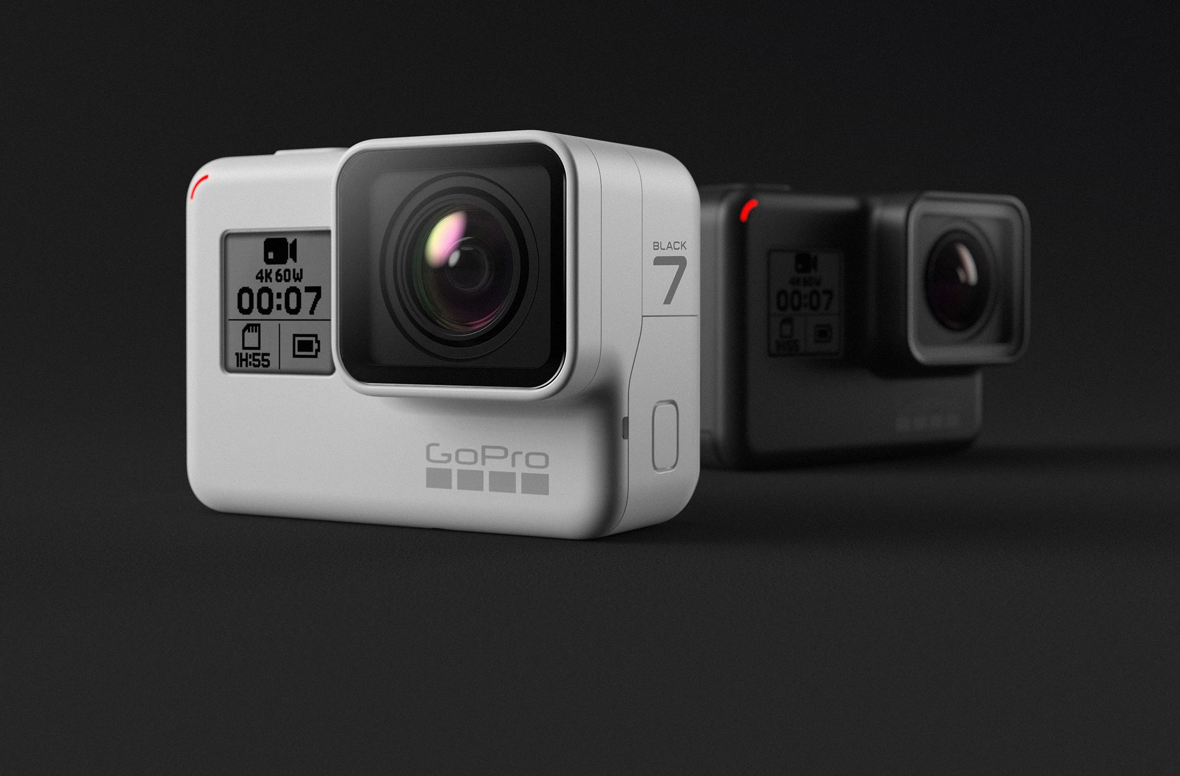 9a4656aa74 White is the new Black: GoPro Hero 7 Black now comes in limited ...