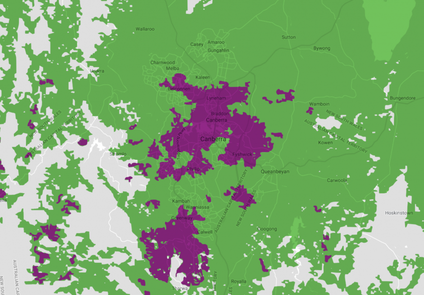 Telstra 5G Network Coverage