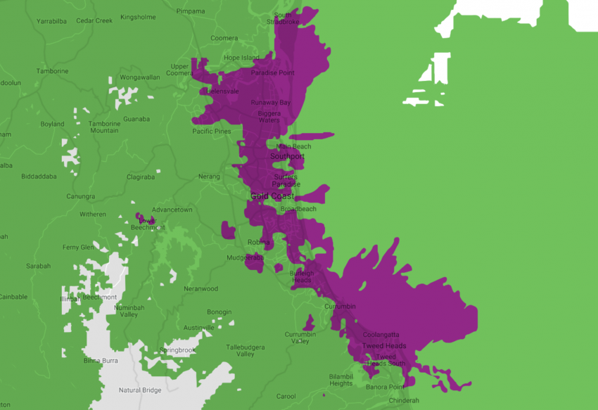 Telstra 5G Network Coverage-