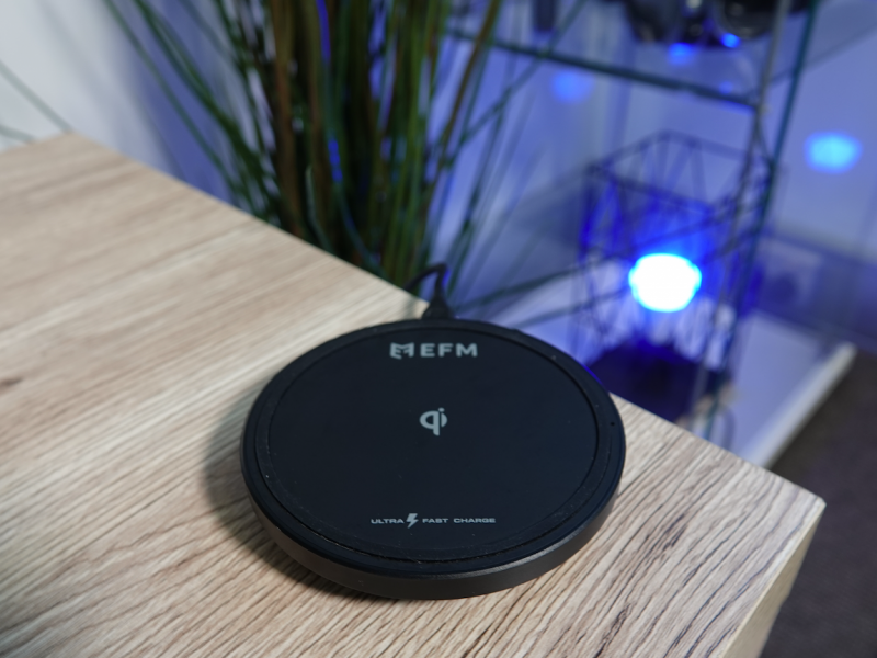 EFM 15W Ultra fast wireless charger review » EFTM