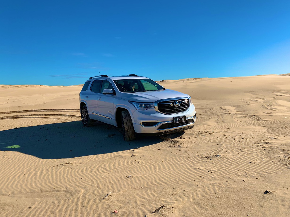 Holden Acadia Ltz V Family Weekend Getaway Test Eftm
