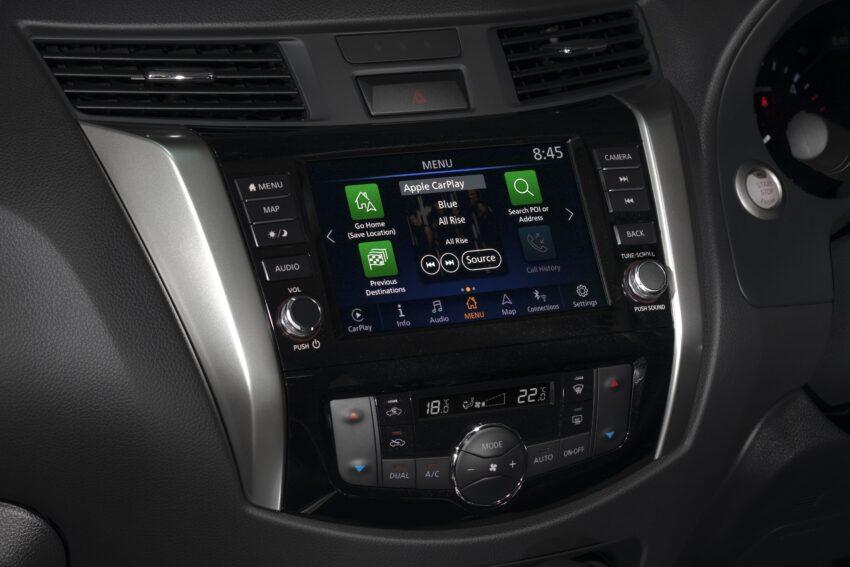 Nissan Navara models score Apple CarPlay & Android Auto » EFTM