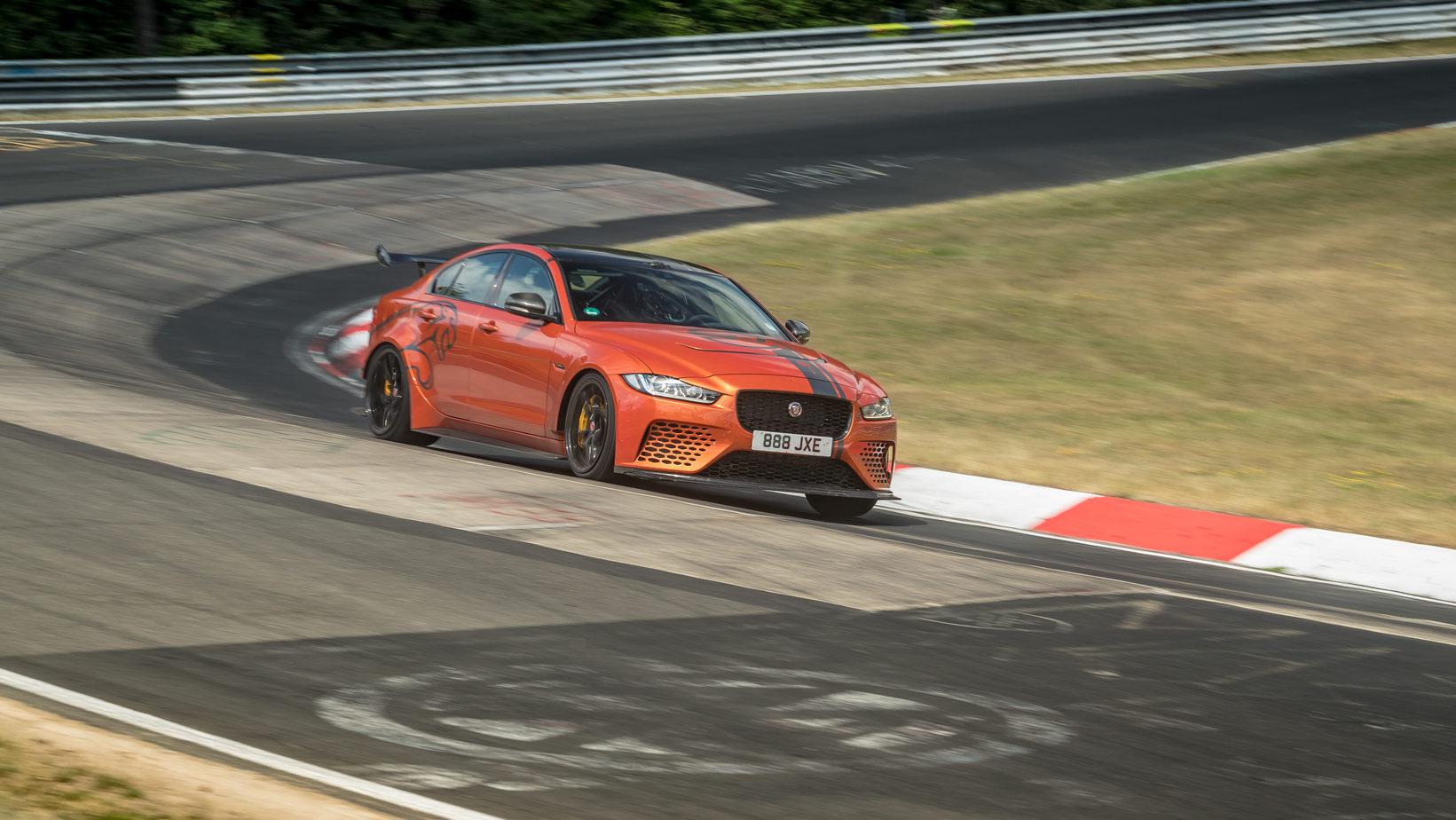 Jaguar set new record at Nürburgring Nordschleife » EFTM