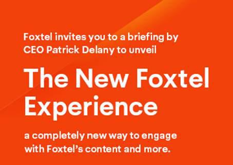 Exclusive Foxtel Launching Netflix Voice Control Remote