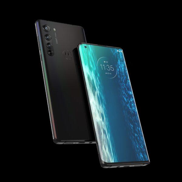 Motorola Edge - Solar Black