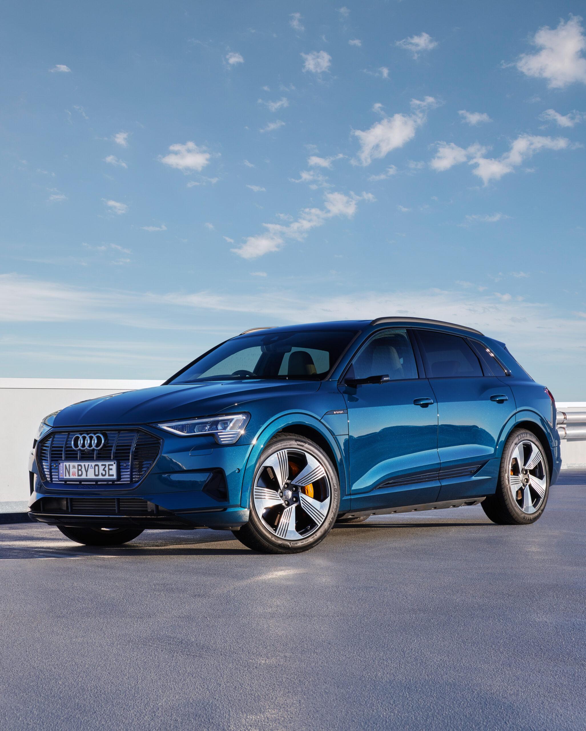 Audi E-tron Charging Station » EFTM