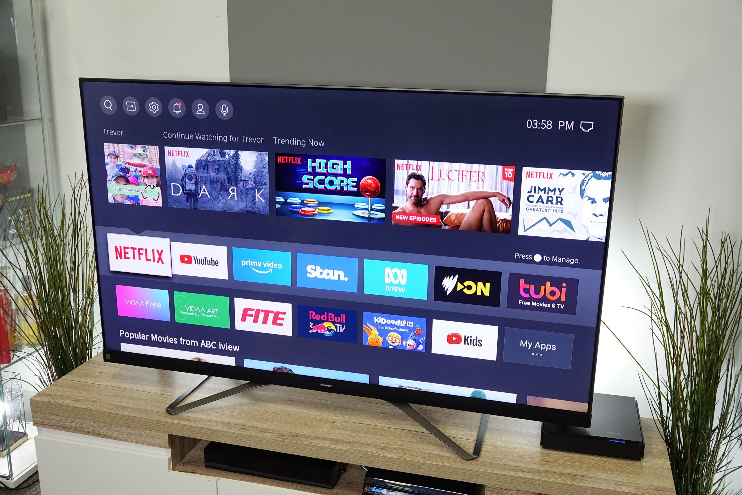 Hisense Q8 TV