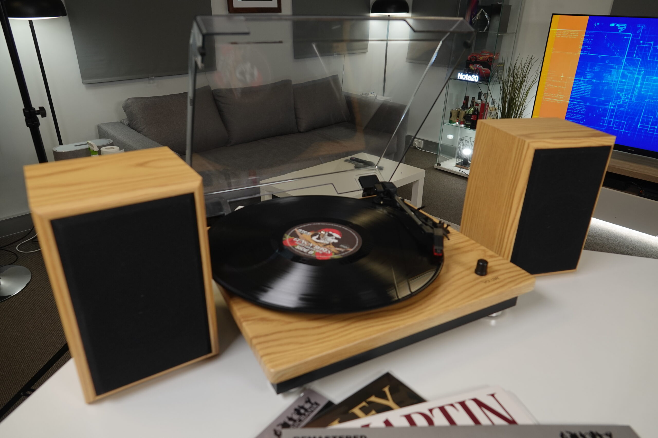Aldi Turntable With Detachable Speakers Review Dust Off