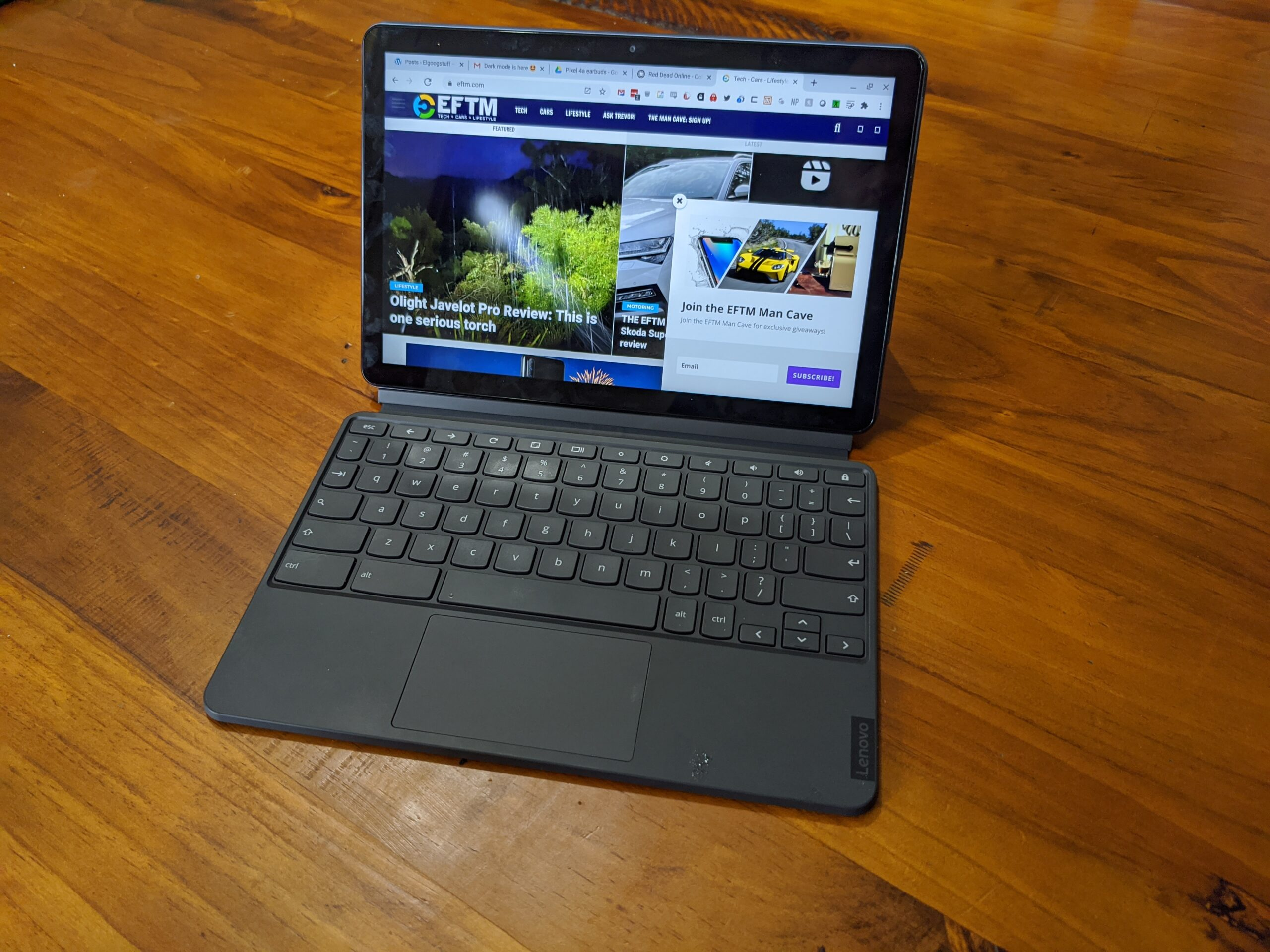 Lenovo Ideapad Duet Chromebook Review Competent And Compact Eftm