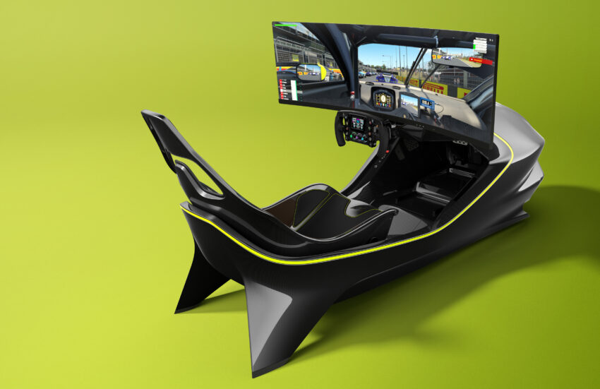 Aston Martin AMR-C01 Racing Simulator