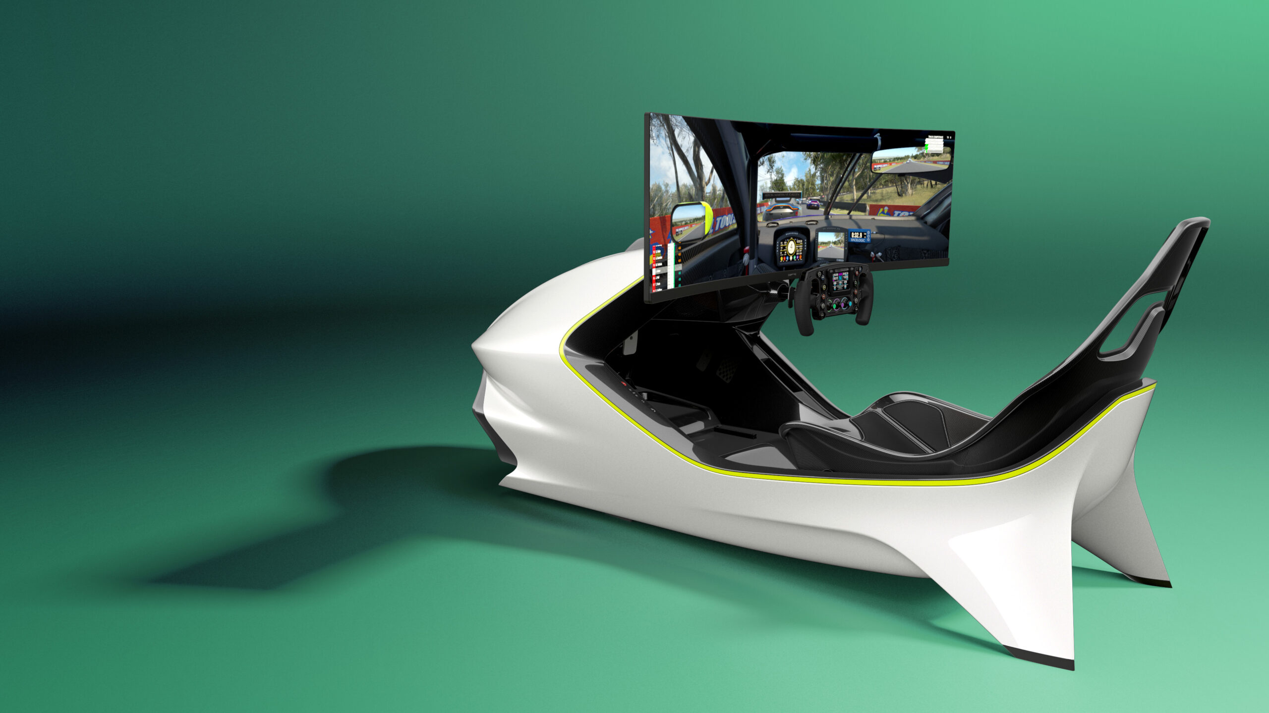 the Aston Martin Racing Simulator AMR-C01 on show!