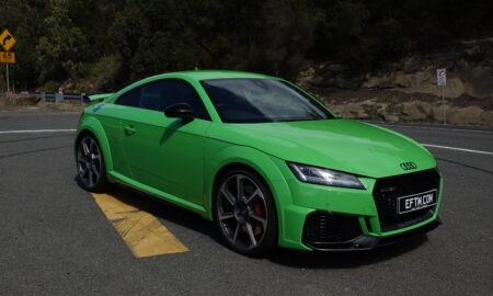 Audi TT RS in Green