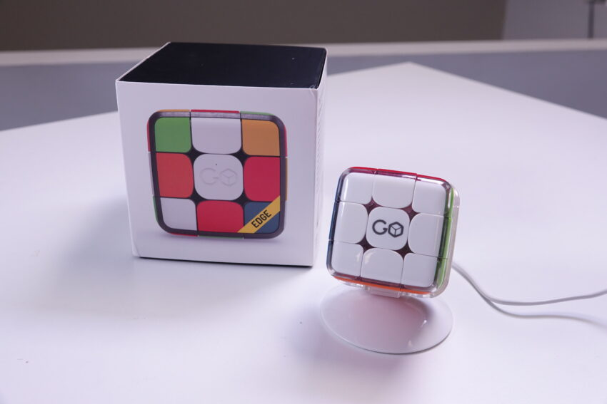 The GoCube and it's packaging