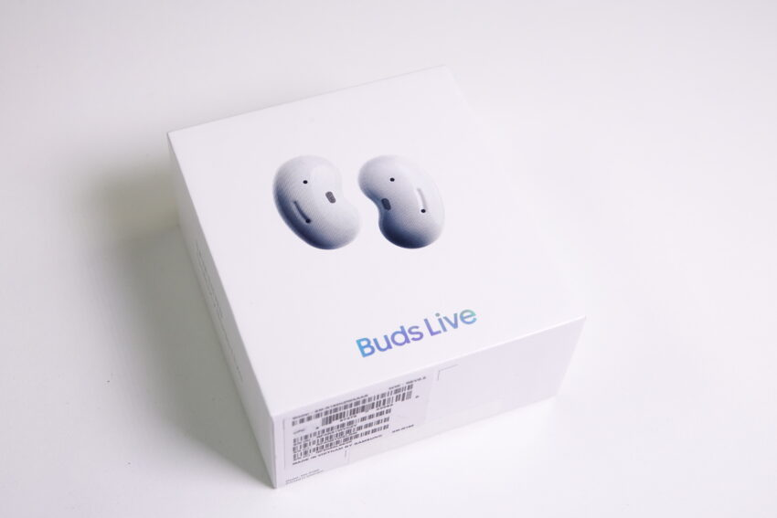 The box for the Samsung Galaxy Buds Live