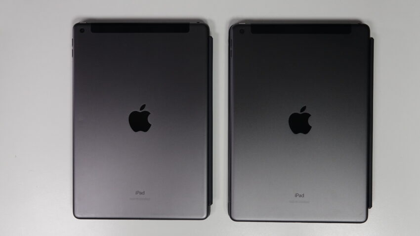 iPad 7th Generation and 8th Generation side by side