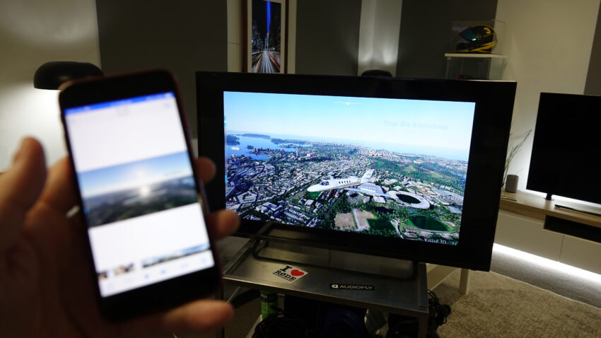 TV Fix mirroring a video from an Apple IPhone