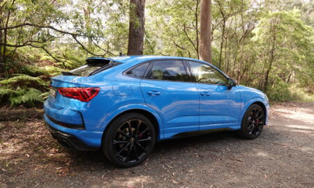 The BLUE Audi RS Q3 Sportback
