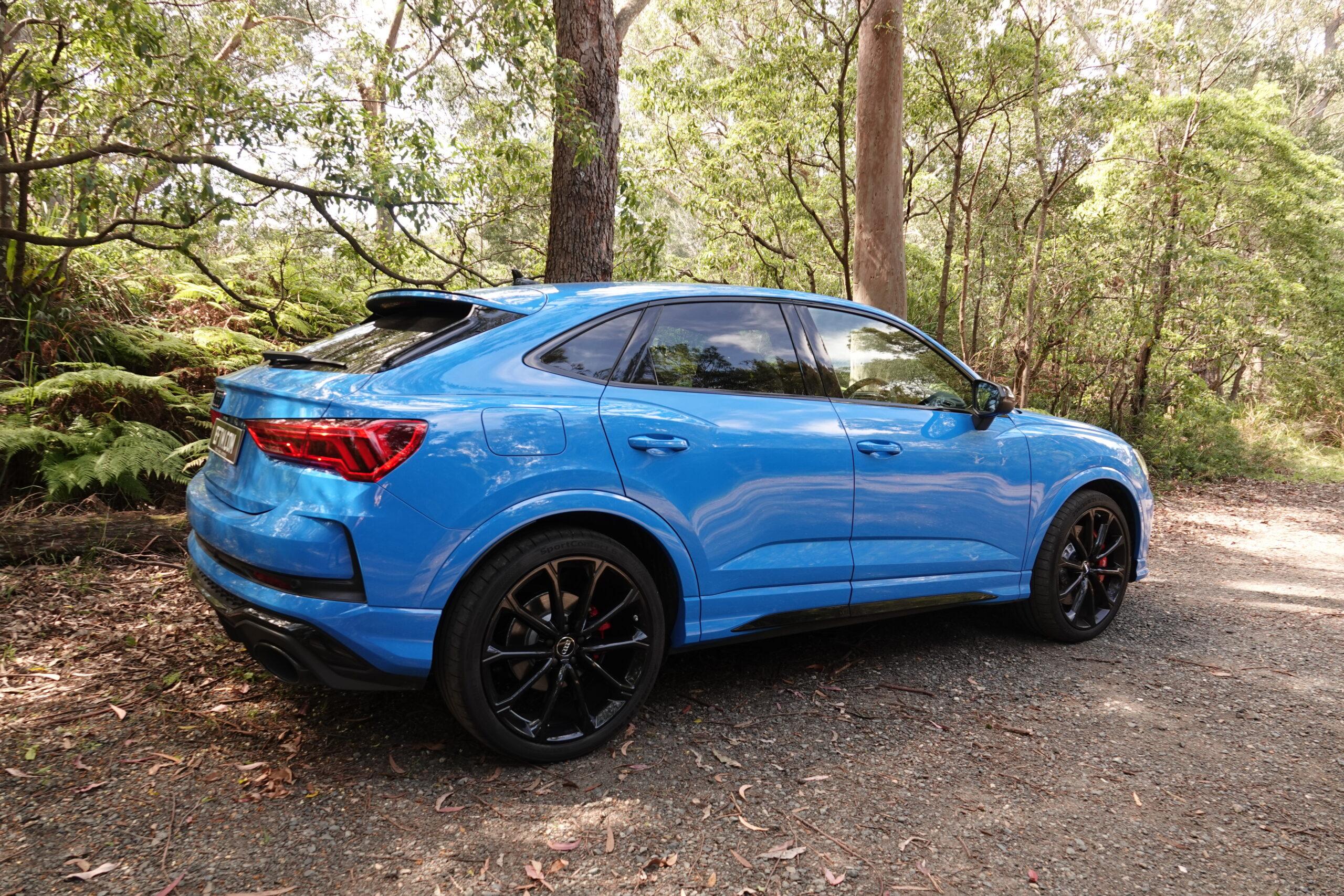 The BLUE Audi RS Q3 Sportback