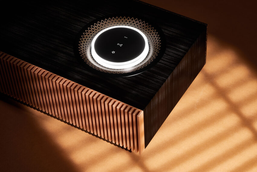 Naim Mu-so for Bentley  shown in shadow
