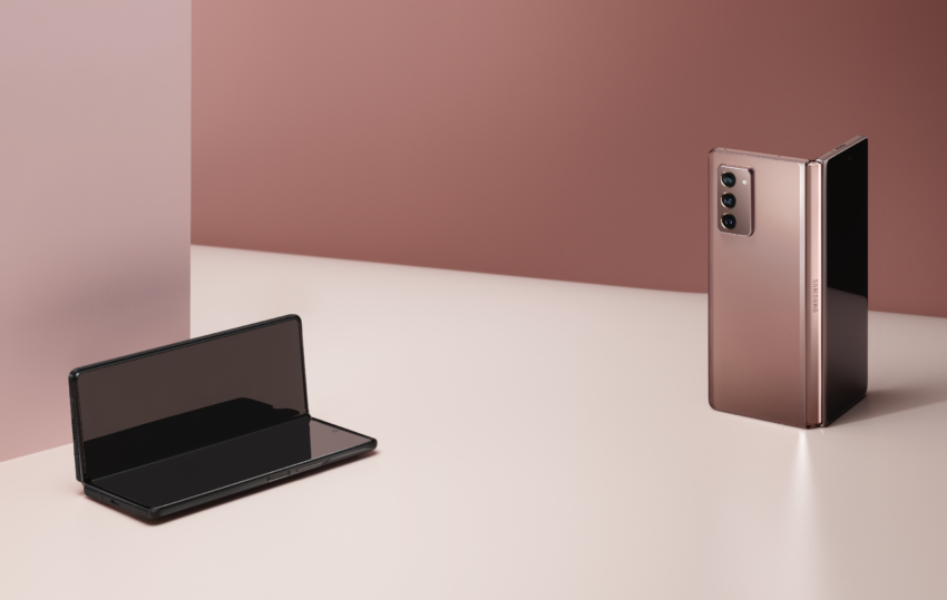 Product shots of the new device in Bronze